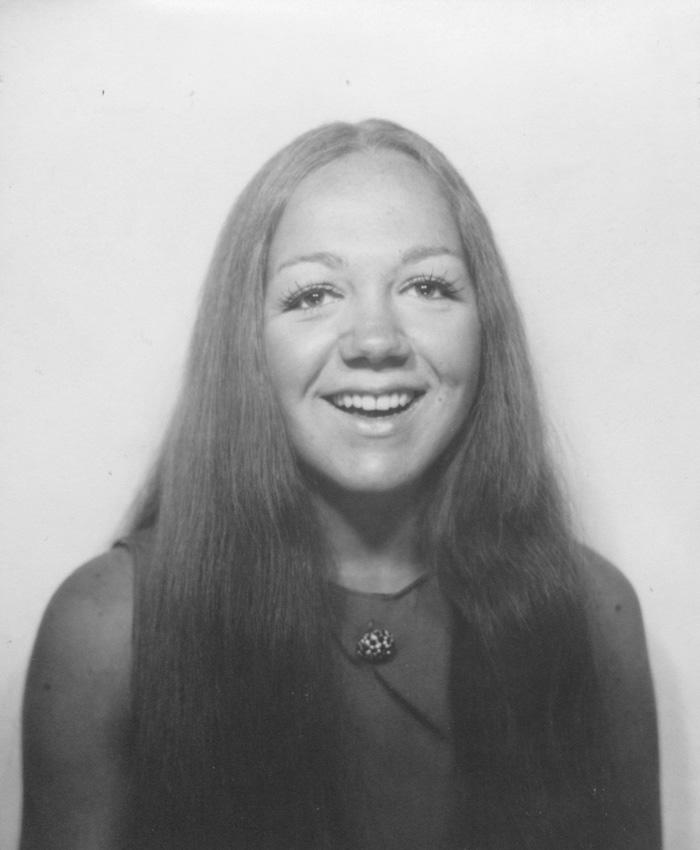 1969 - Véro a 19 ans