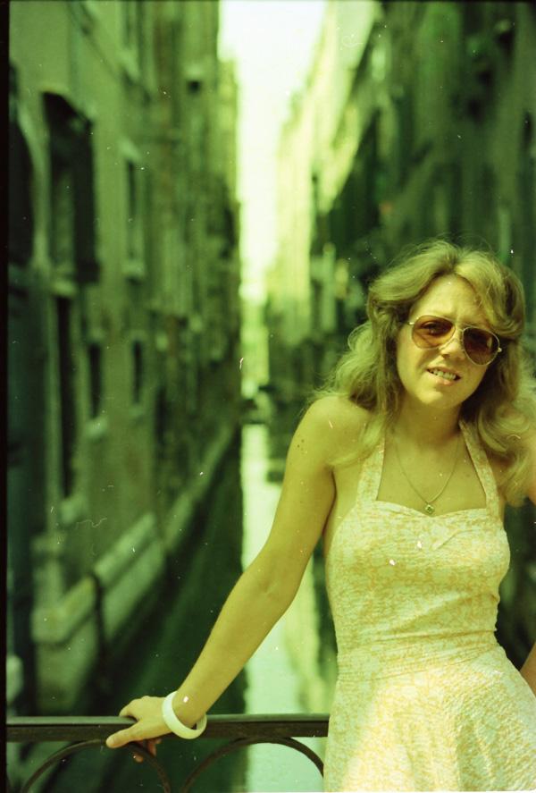1975 en Italie - Véro a 25 ans